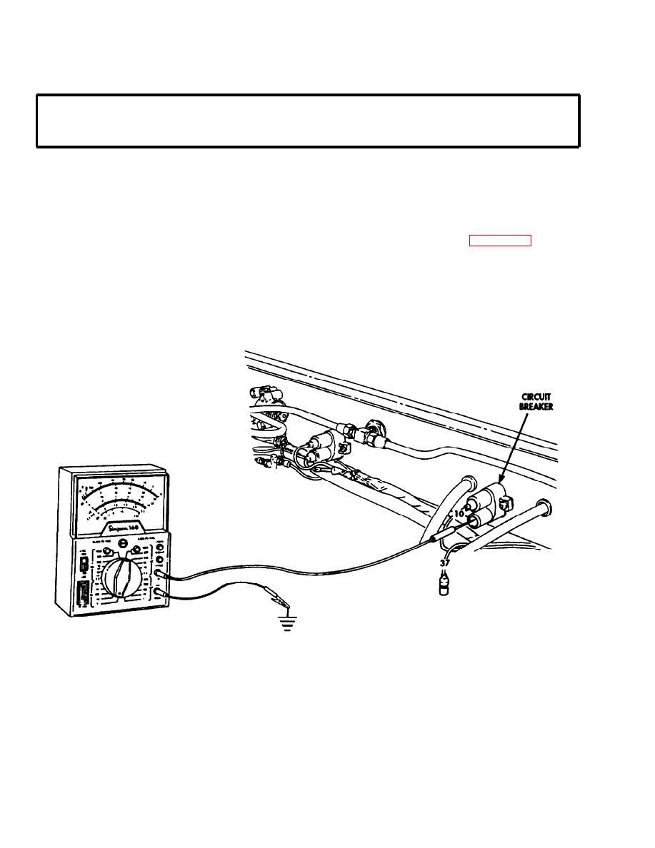 spring brake warning light inoperative with spring brake