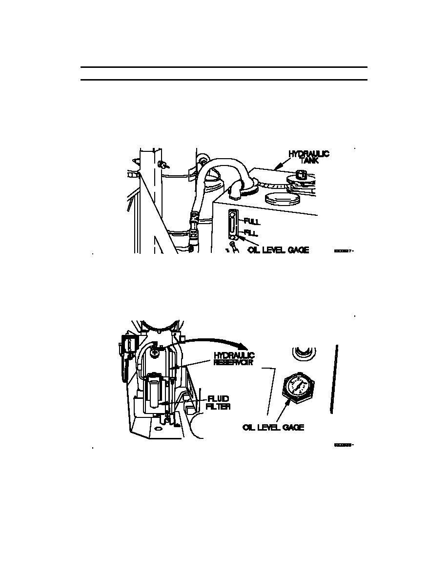 hydraulic tank  m1089a1